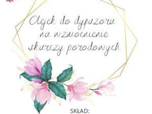 etykieta olejek nawzmocnienie skurczy Polska Szkoła Rodzenia wUK