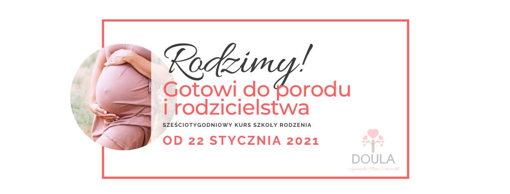 Kurs online polskiej szkoły rodzenia gotowi doporodu irodzicielstwa